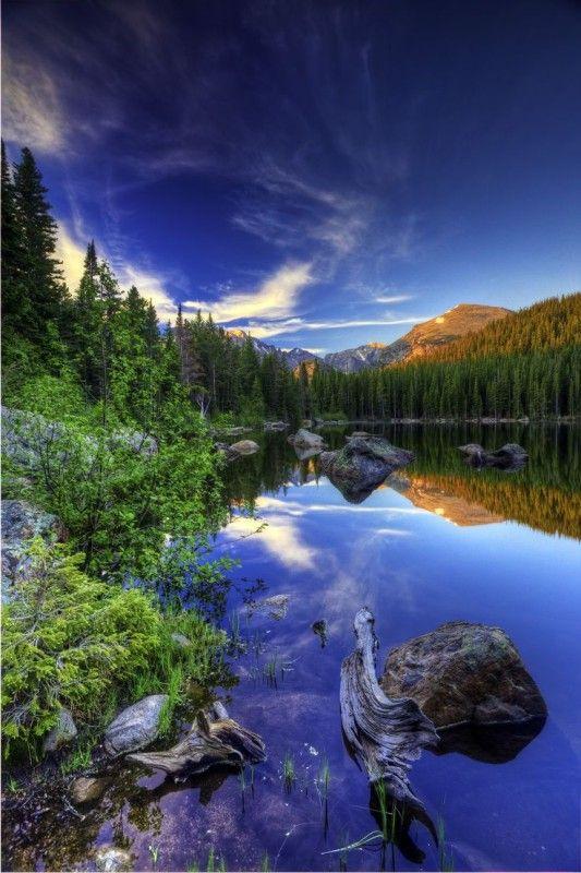 Bear Lake , Rocky Mountain National Park , Colorado, USA