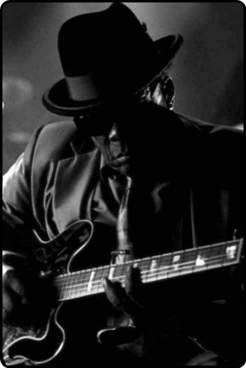 """John Lee Hooker. One word Describes and Exemplifies his Demeanor, Appearance and Showmanship. """"COOL"""""""