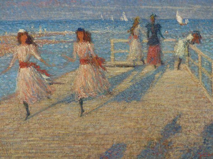 Tate Britain - Philip Wilson Steer painting, Girls Running (1894) - Photo taken by BradJill