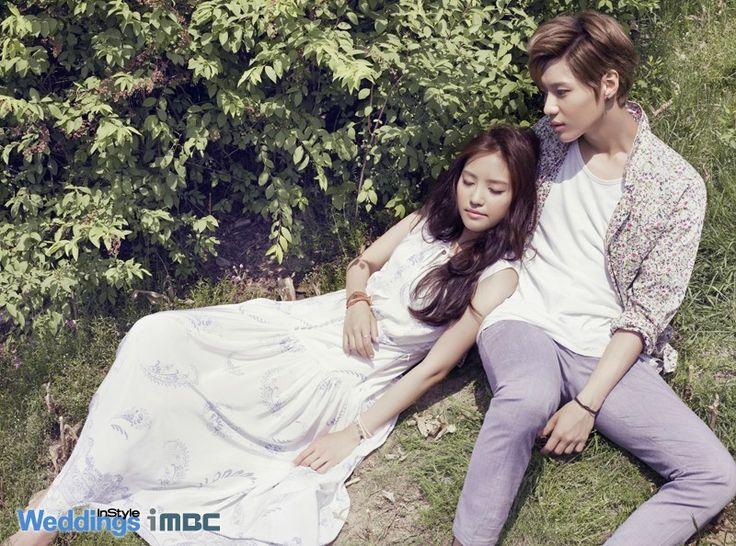 Taemin (SHINee) & Naeun (APink) → We Got Married