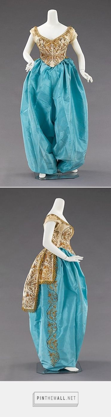 Fancy dress costume by House of Worth ca. 1870 French | The Metropolitan Museum of Art