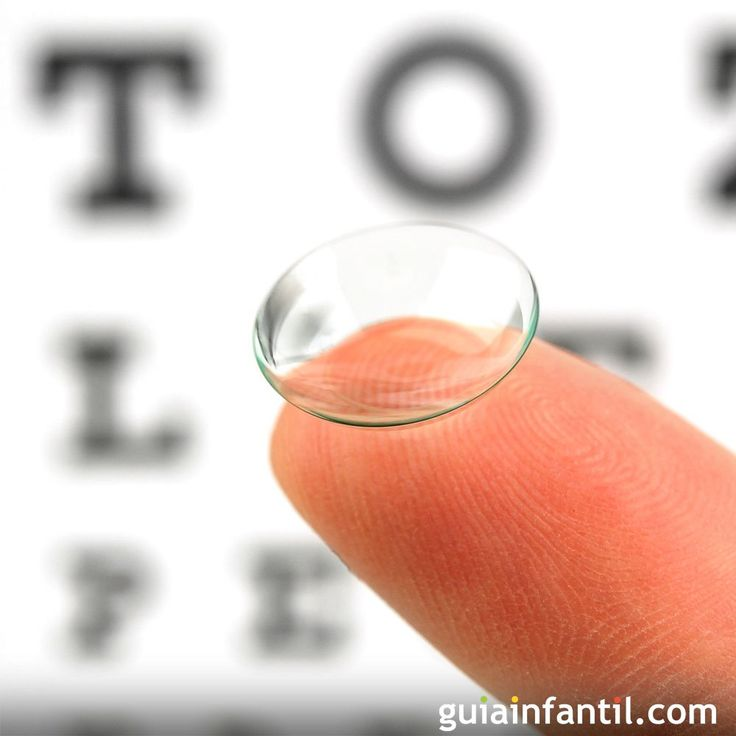 ¿pueden usar lentes de contacto los niños?