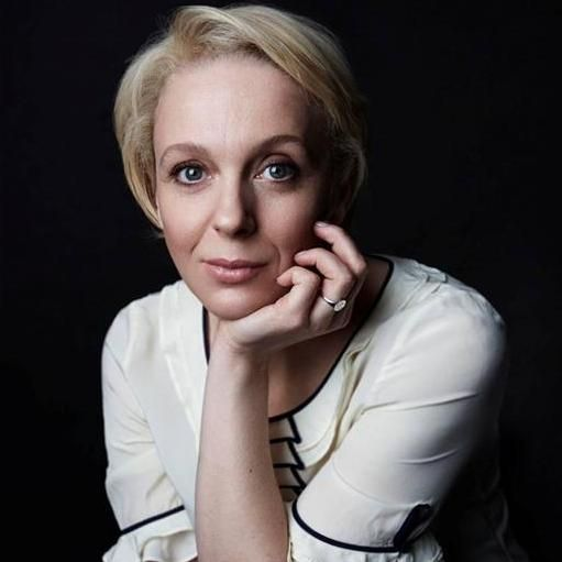 Amanda Abbington. Partners with Martin Freeman, I've only seen her in Sherlock, but I think she's a very good actress and she seems to have one of the BEST personalities EVER