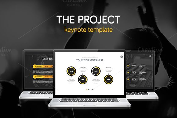 The Project Keynote Template Keynote Template And Ppt