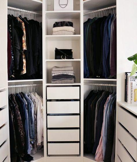 IKEA PAX Kleiderschrank kombinationen  Inspirationen Schlafzimmer