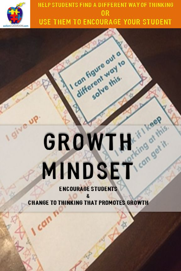 when using the growth mindset Growth mindset in my primary classroom since september, i've been introducing my primary (year 4) class to the idea of how a growth mindset can help with learning.