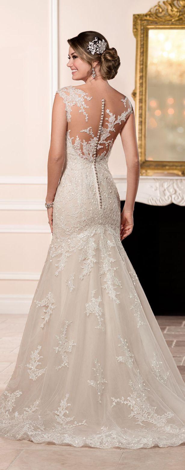 Stella York Fall 2016 Wedding Dress - Belle The Magazine