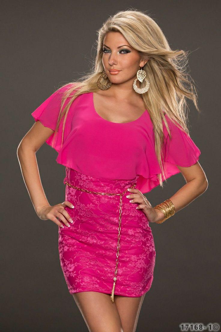 Rochie SensitiveLacy Pink >> Click pe poza pentru a vedea pretul. #rochii #rochiideseara #fashion #dress #rochiideocazie