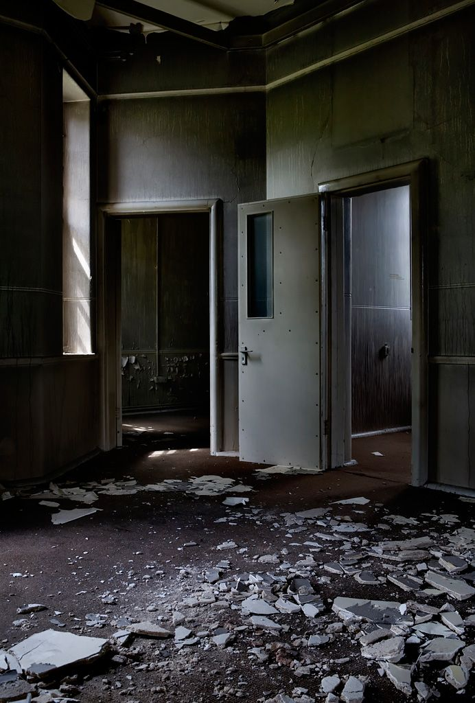 Severalls Hospital Colchester Essex England - The doors here seemed to have been reinforced for stability or sound proofing.   Pinterest   Sound proofing ... & Severalls Hospital Colchester Essex England - The doors here ... pezcame.com