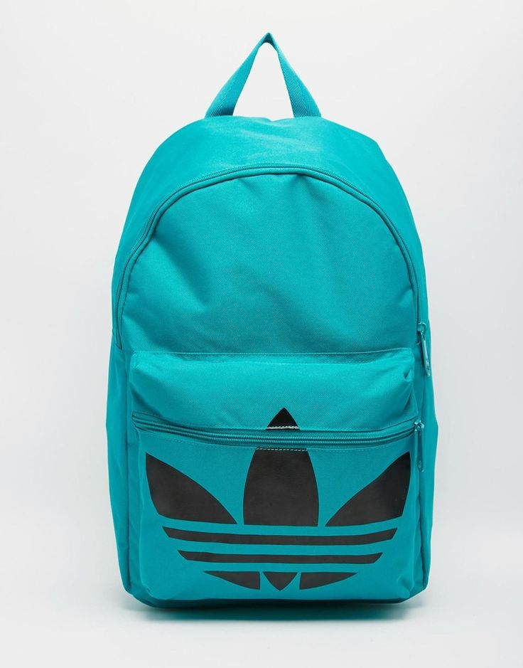 adidas neon green backpack