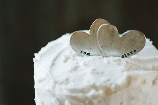 Simple Cake toppers