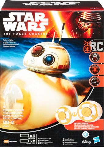 [Sub May the 4th] BB8 Eletrônico Star Wars Hasbro- $199,00