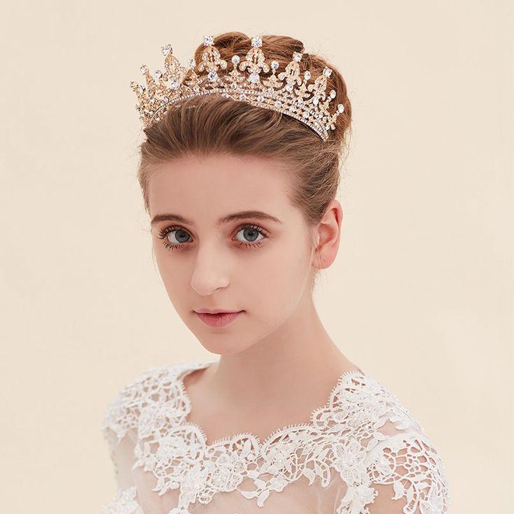 New Fashion Magnificent Crystal Bridal Tiaras Rhinestone Wedding Diadem for Women Headbands Hair Jewelry Accessories Wholesale