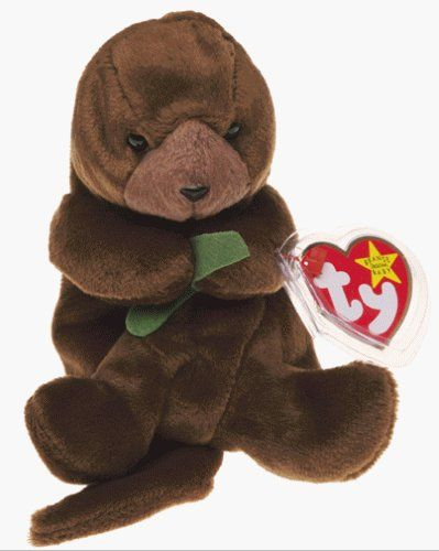 Ty Beanie Babies - Seaweed the Otter by Beanie Babies,