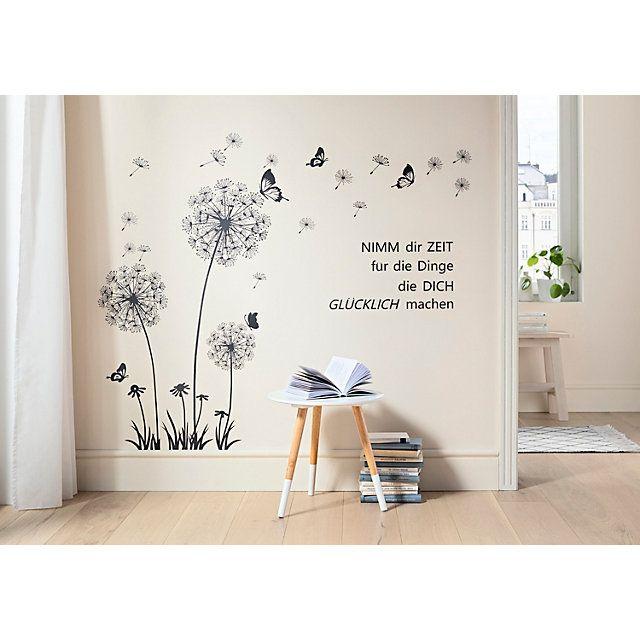Wandtattoo Pusteblume 150 X 120 Cm Bestellen Weltbild De Wandtattoo Pusteblume Wandtattoo Haus Deko