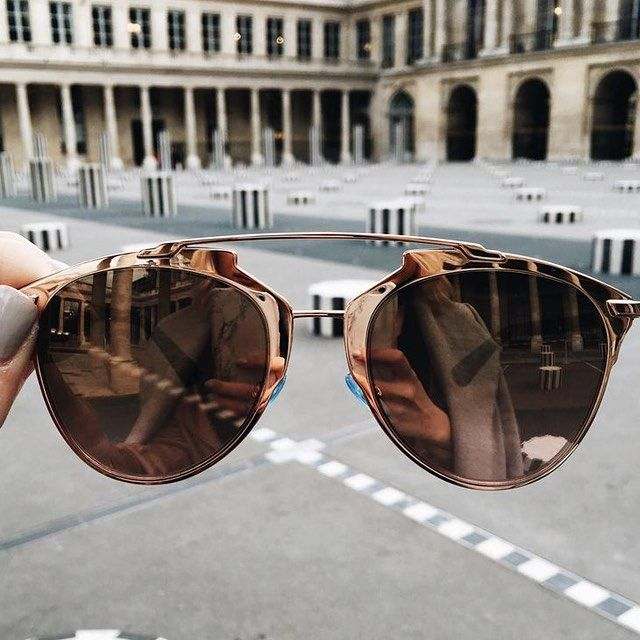 These rose gold Dior So Real shades are SO major. // Follow @ShopStyle on Instagram to shop this look