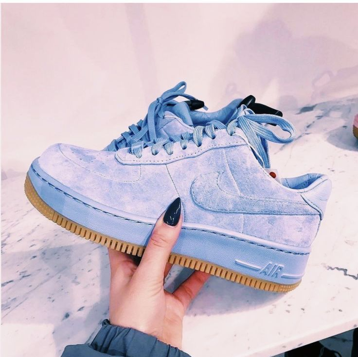 air force 1 upstep bleu