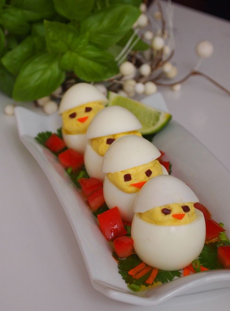 Πάσχα στην Κουζίνα: Γεμιστά αυγά - κοτοπουλάκια - Craftaholic