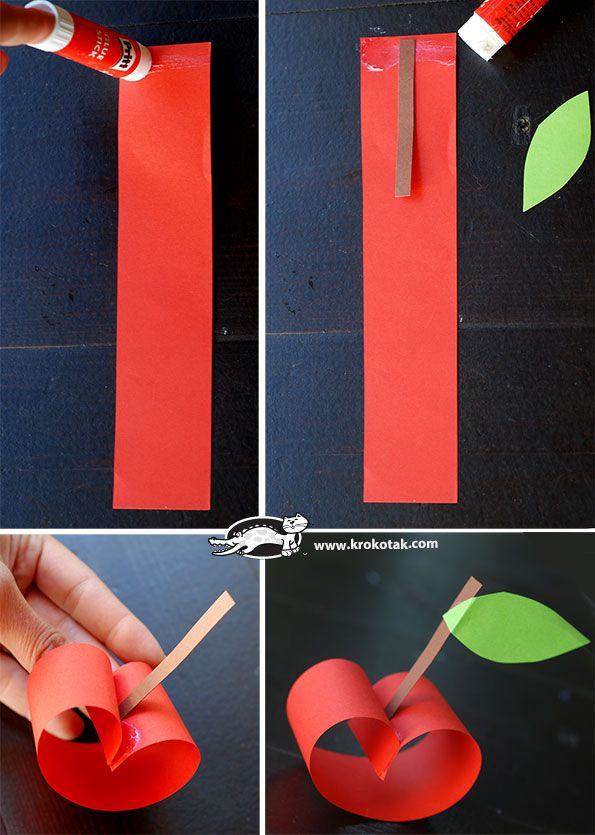 Pommes en papier