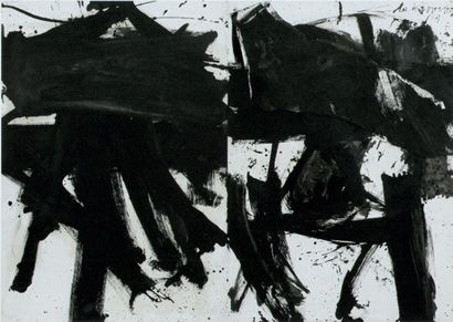 Willem de Kooning, Black and White Rome S 1959