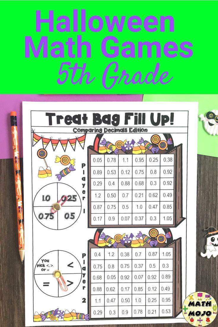 5th Grade Fun Halloween Math Activities Halloween Math Activities 5th Grade Math Games Halloween Math [ 1102 x 735 Pixel ]