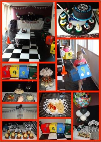 Car Racing Boys Party