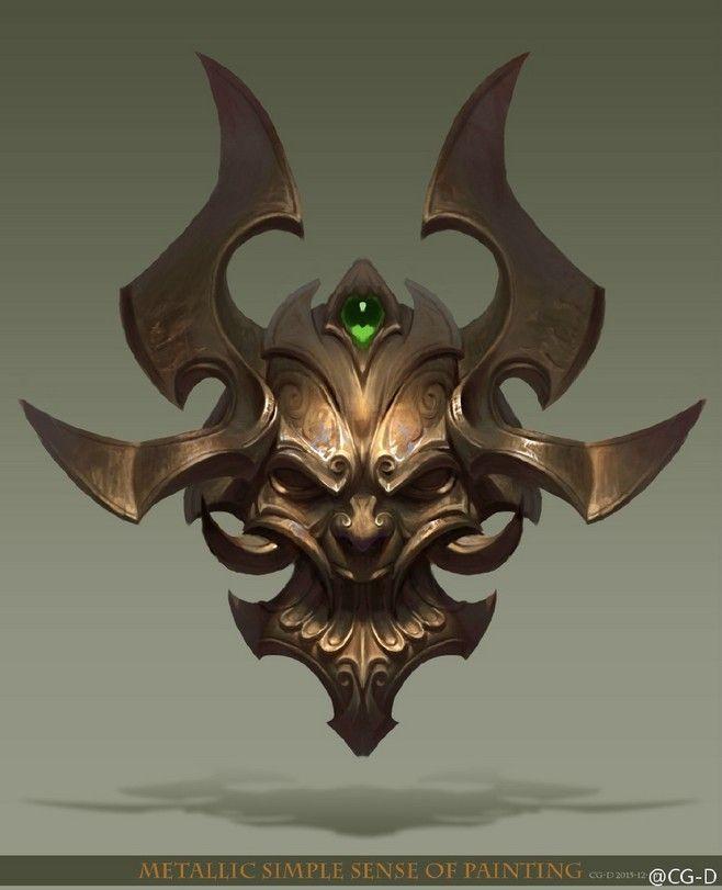 Maske des Champions