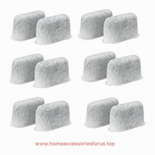 Replacement Charcoal Water Filters -Removes Chlorine, odors, and others impurities from Water-for Cuisinart Coffee Machines- Set of 12 pack  BUY NOW     $9.99    Pack of 12 replacement charcoal water filter. Replace the Water Filter Starter Kit accessory (sold separately) filters for an e ..  http://www.homeaccessoriesforus.top/2017/03/12/replacement-charcoal-water-filters-removes-chlorine-odors-and-others-impurities-from-water-for-cuisinart-coffee-machines-set-of-12-pack-2/