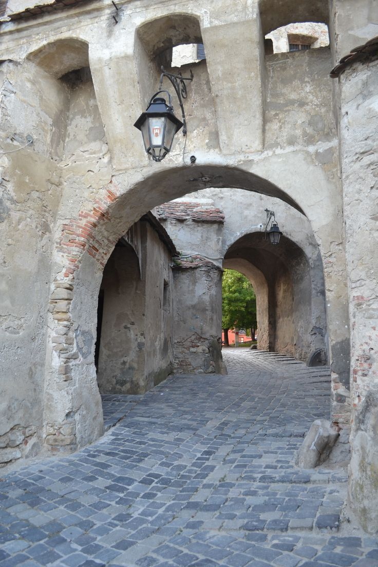 Sighisoara Citadel in Transylvania - birthplace of Vlad the Impaller http://www.touringromania.com/tours/city-break/city-break-in-transylvania-private-tour-3-days.html