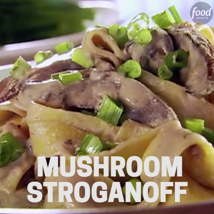 Whether you are vegetarian or just cutting back on meat, mushrooms serve as a hearty substitute for beef in this delicious Stroganoff recipe.