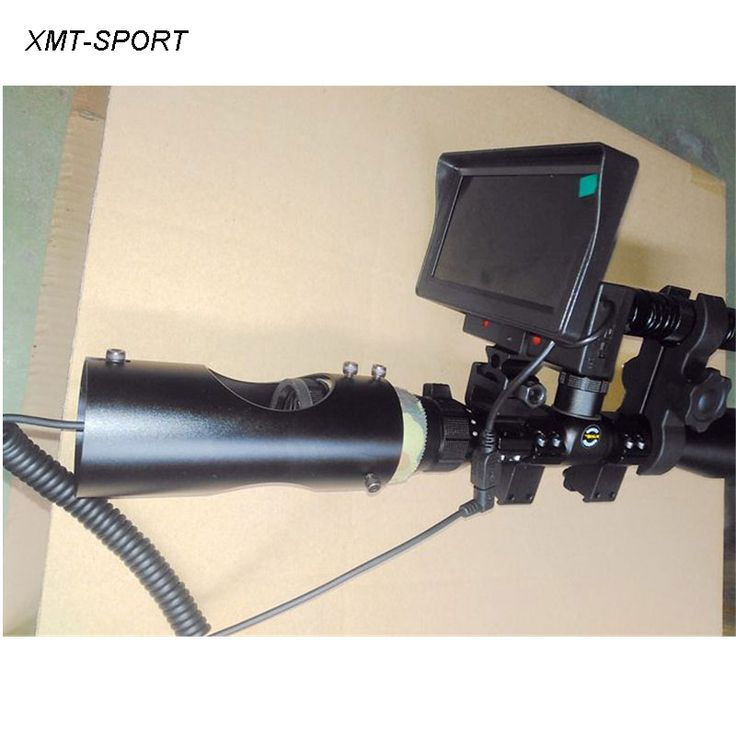 XMT-SPORT Infrared night vision scope hunting digital monocular device 4.3inch screen sight