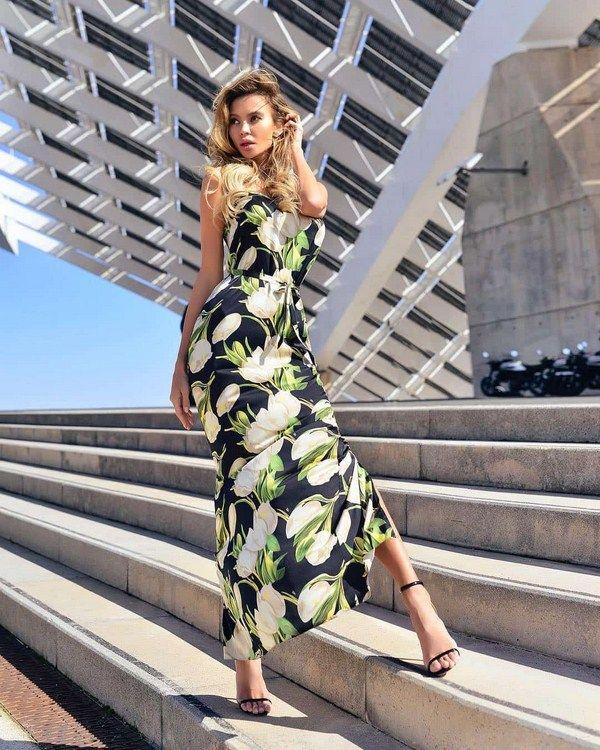 bc9bc5e40dc0d45 Самые модные летние платья и сарафаны в сезоне 2018-2019 года: фото. С чем  носить модные платья на лето: лучшие летние образы с платьями и …