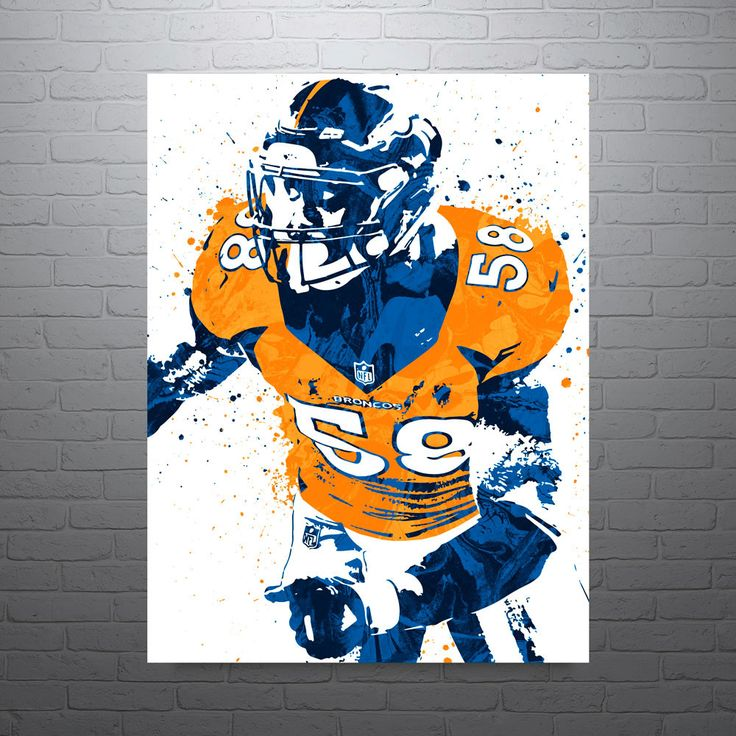 Von Miller poster. Miller is an American football outside linebacker for the Denver Broncos of the National Football League (NFL). Miller played college football at Texas A&M, where he earned consensu