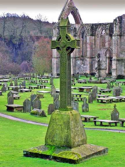 Bolton abbey graveyard, Skipton, North Yorkshire, England Copyright: Stephen Wilkinson