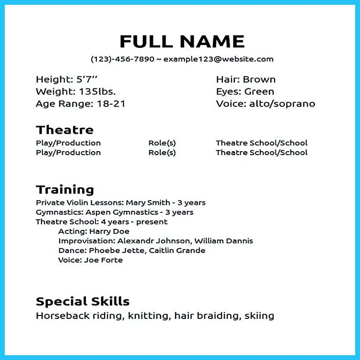 cool Impressive Actor Resume Sample to Make, Check more at http://snefci.org/impressive-actor-resume-sample-make