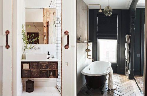 Best 25+ Industrial Chic Bathrooms Ideas On Pinterest