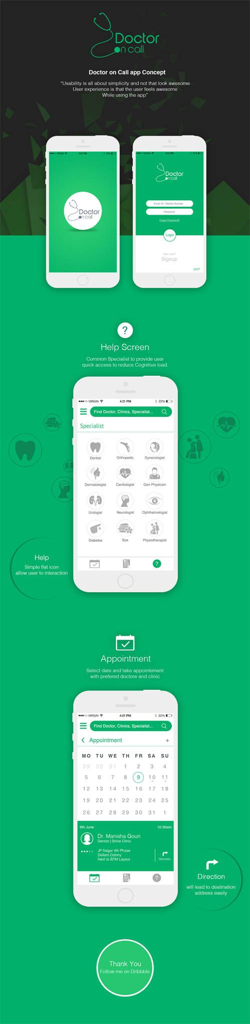 Doctor On Call - Healthcare App