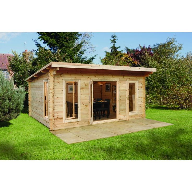 Wicklow Log Cabin 6m X 4m Log Cabins For Sale In Ireland