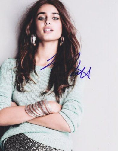 Taylor Marie Hill Autographed Signed 8X10 Photo COA Model