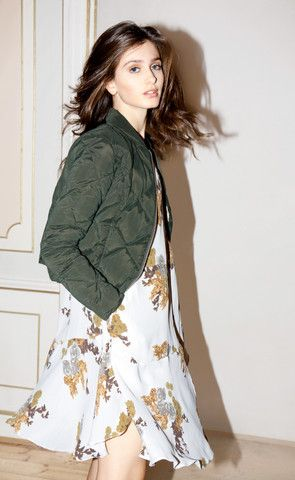 AW 15 – byTiMo Down Jacket in Floral