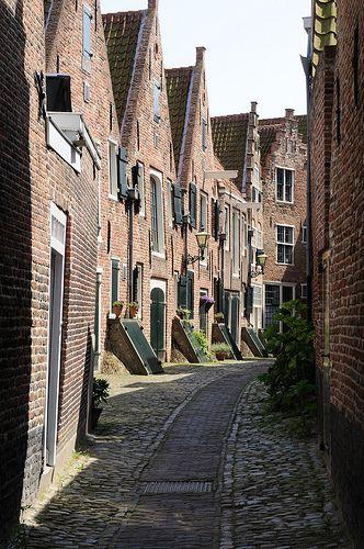 Kuiperspoort, Middelburg, Zeeland. The Netherlands