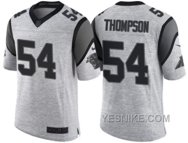 http://www.yesnike.com/big-discount-66-off-nike-carolina-panthers-54-shaq-thompson-2016-gridiron-gray-ii-mens-nfl-limited-jersey.html BIG DISCOUNT ! 66% OFF ! NIKE CAROLINA PANTHERS #54 SHAQ THOMPSON 2016 GRIDIRON GRAY II MEN'S NFL LIMITED JERSEY Only $26.00 , Free Shipping!