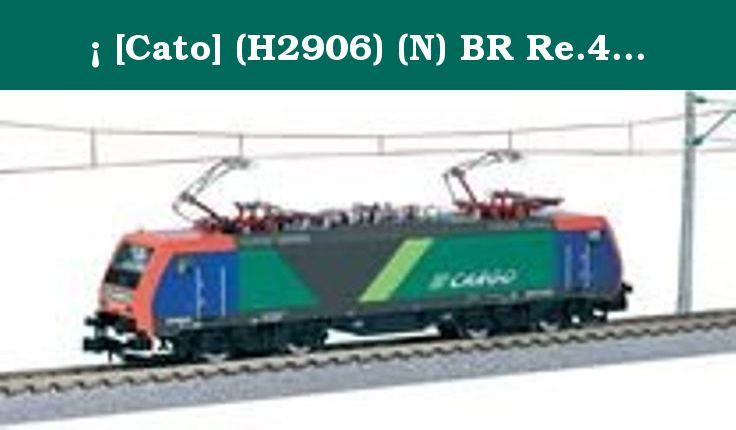 ¡ [Cato] (H2906) (N) BR Re.474 NF-Cargo Train KATO (foreign vehicle). ? [ Cato ] (H2906) (N) BR Re.474 NF-Cargo Train KATO ( foreign vehicle ).