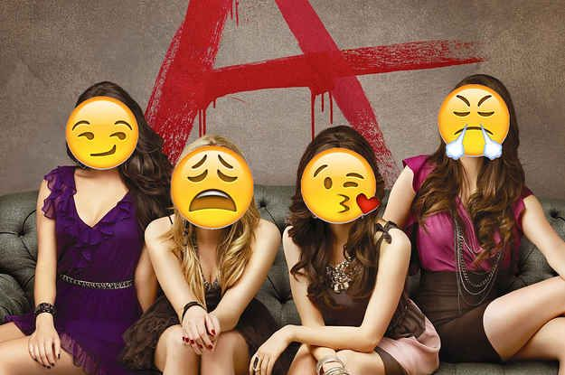 """Can You Guess The """"Pretty Little Liars"""" Character From These Emojis?"""
