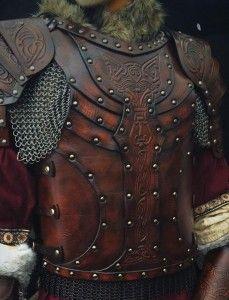 LARP Body Leather Armour