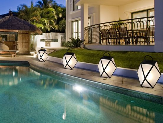 "Sophisticated products for an exclusive ""outdoor living room"" CONTARDI- Muse, outdoor lamp designed by Tristan Auer"