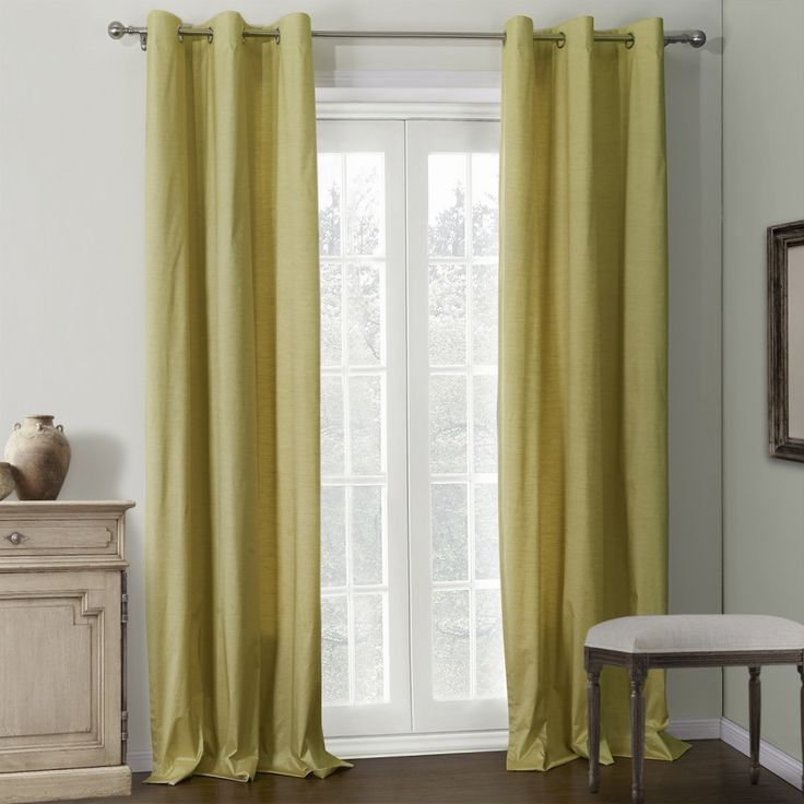 Solid Champagne Coating Thermal Curtain  #curtains #homedecor #decor #homeinterior #interior #design #custommade