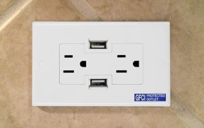 USB Wall Outlet! I'm ordering one right now!