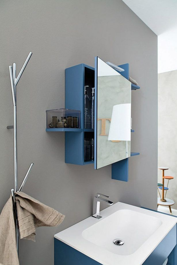 Mirrored Medicine Cabinet For The Contemporary Bathroom