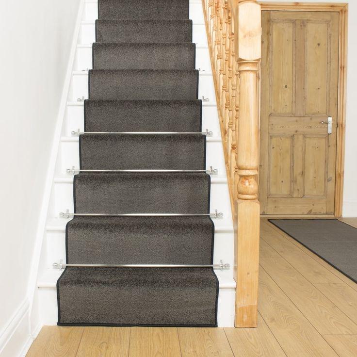 Best Stair Carpet Runner Rods Stair Runner Carpet Gray Stair 400 x 300
